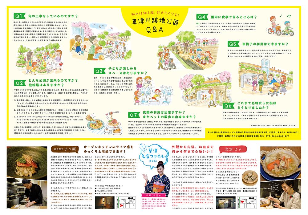 草津まち歩き新聞 第3号できました!!