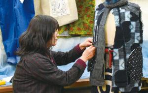 《未来をつくる人々》 リサイクル着物 貴羅羅(きらら) 佐生 直子(さそう なおこ)さん