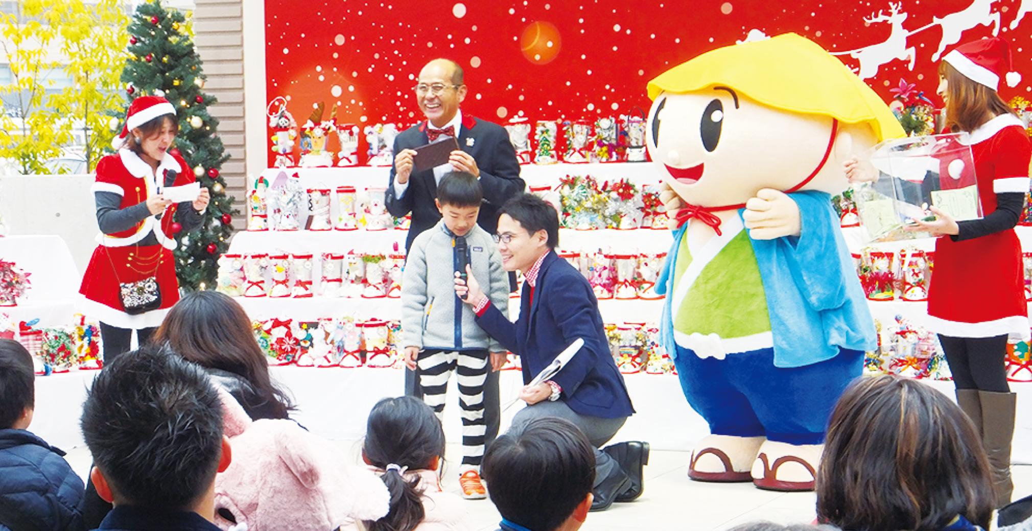 11/26(金)〜12/16(木)第10回 商店街クリスマスブーツギャラリー